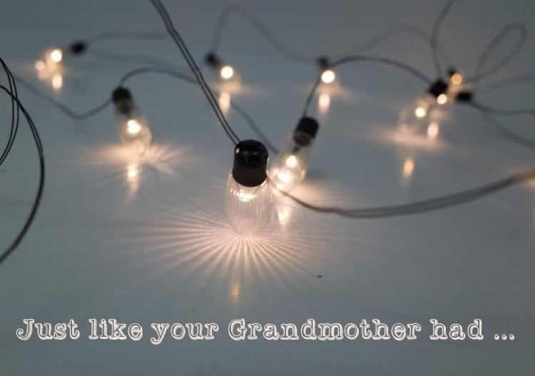 Mini Vintage Light Strings