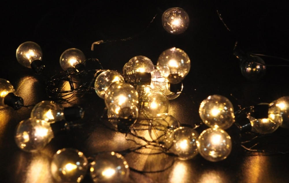 Edison Bulb String Lights Big Lots : Vintage Globe Light Strings theinthing